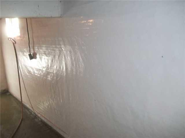 Vapor Barrier Liner Installed in Clarksburg, WV