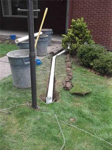 Downspout Extensions in Butler, PA