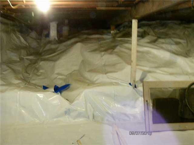 Crawl Space Barrier Installation in Trafford PA