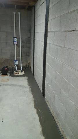Basement Water Seepage in Gibsonia PA