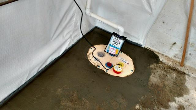 Basement Sump Pump in Finleyville PA