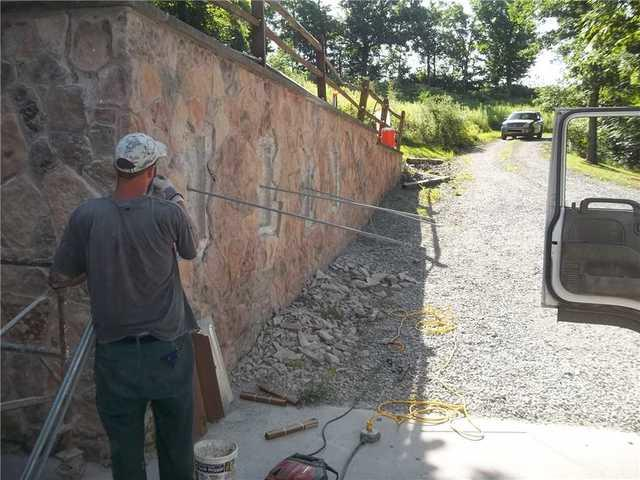 Retaining Wall Repair West Alexander PA