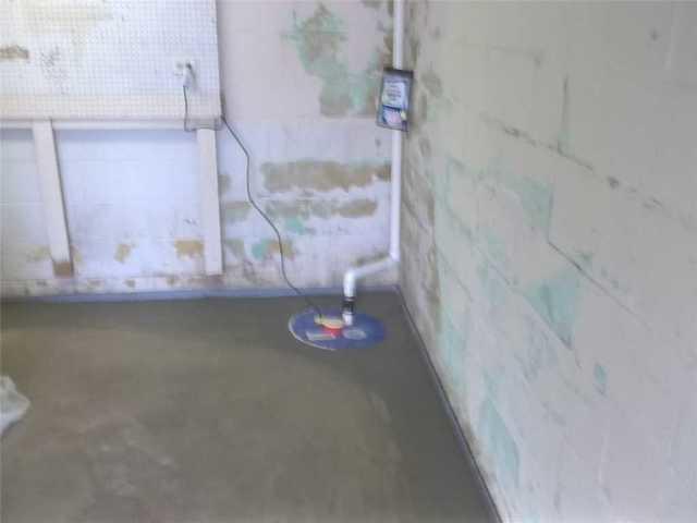 Water in Garage in Braddock PA