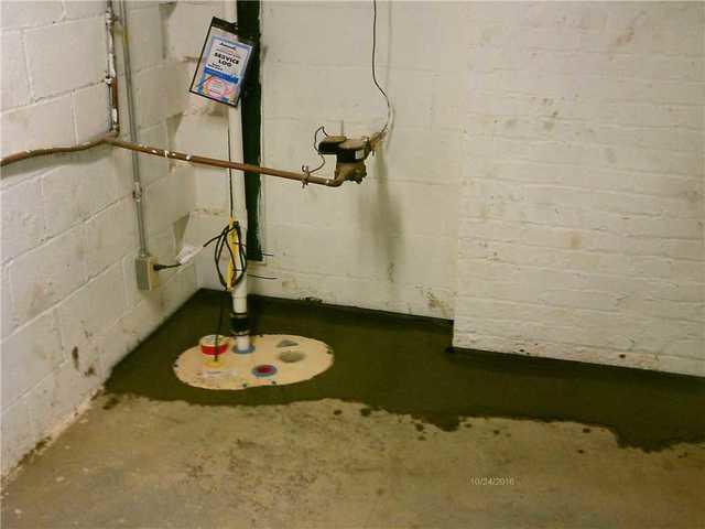 Wet Basement Repair in Ellsworth PA