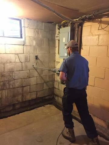 Bowing Foundation Repair in Manor PA