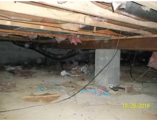 Crawl Space Repair in Triadelphia WV