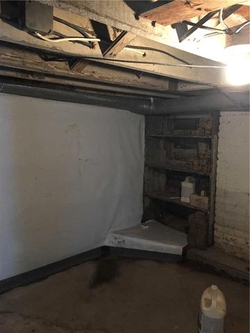 Basement Vapor Barrier Protection in Cokeburg PA