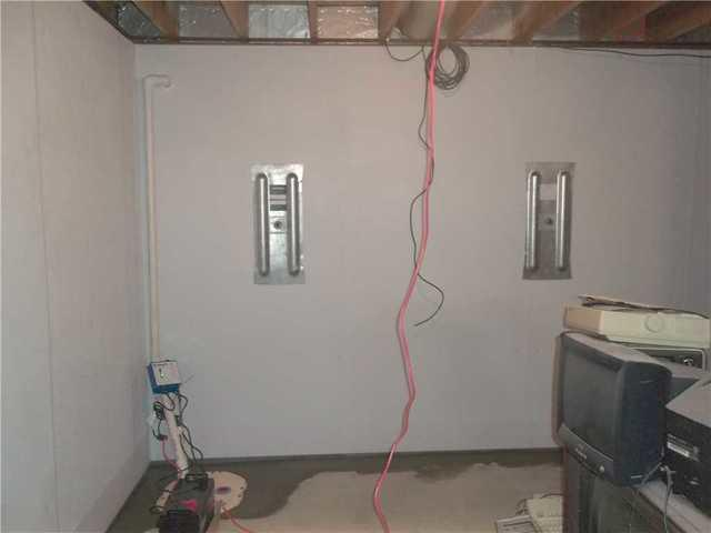 Leaking Basement and Bowing Walls in Valley Grove WV