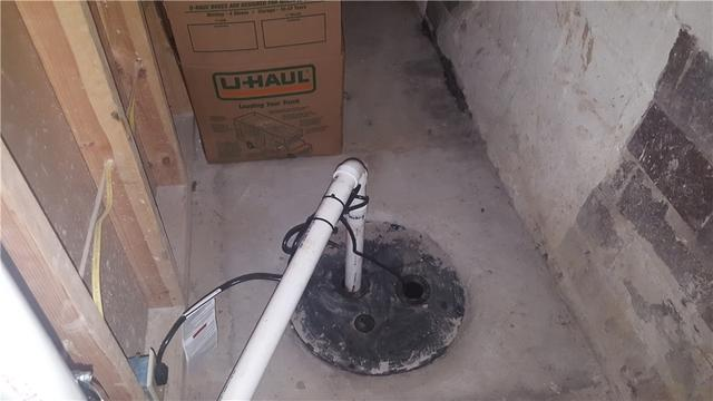 Basement Sump Pump Replacement in Mather PA