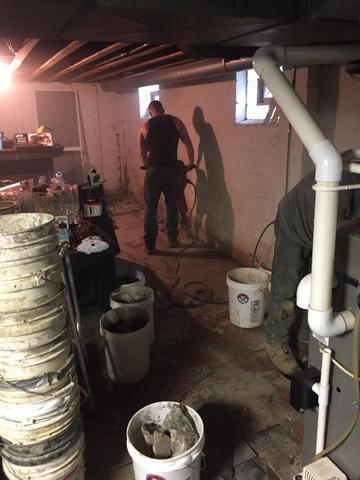 Basement Waterproofing in Pittsburgh, PA