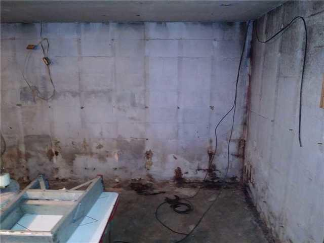 Basement Wall Transformation in Dunbar, PA