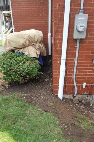 Underground Downspout Extensions in Industry, PA