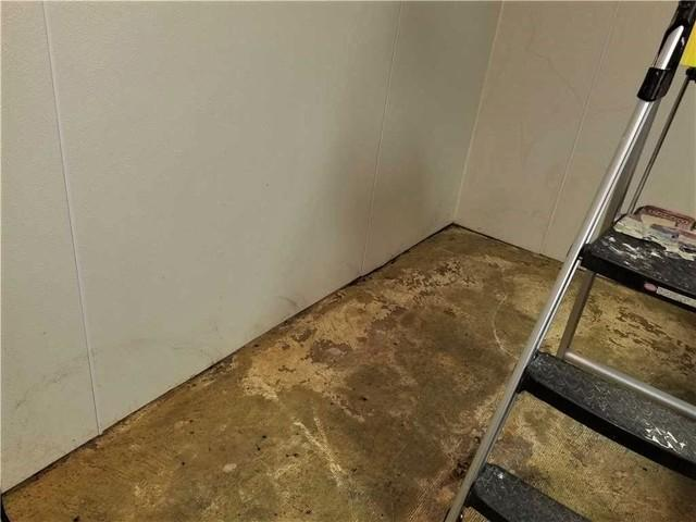 Basement Waterproofing and New Tile Flooring in Sistersville, WV