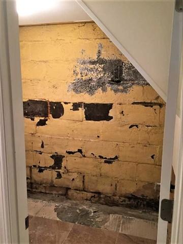Damp Foundation Wall Repair in Bethel Park, PA