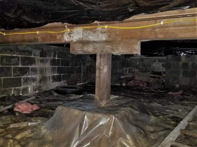 Sealed and Repaired Crawl Space in Morgantown, WV