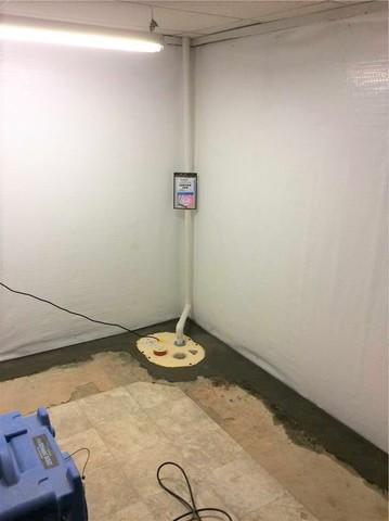 Basement Waterproofing System in Monroeville, PA