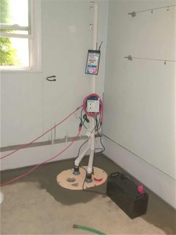 Sump Pump Installation with Battery Backup in Pittsburgh, PA