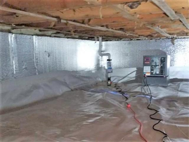 A Flooded, Moldy Crawl Space Transformed to a Dry, Energy-Efficient Home