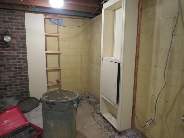 An Employee's Basement Waterproofing Project