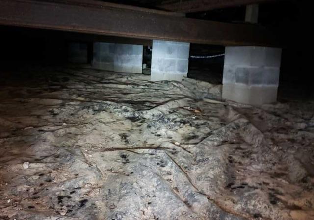 Nasty Crawlspace Repair in Morgantown, WV