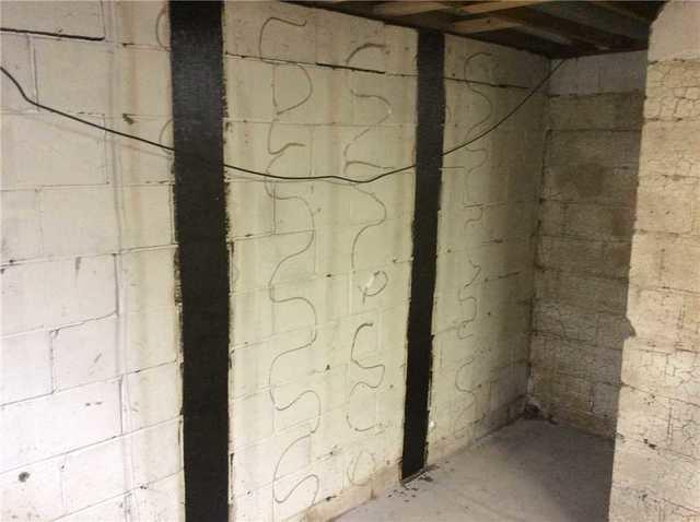 Wet Basement and Bowed Wall Repair in McCandless, PA
