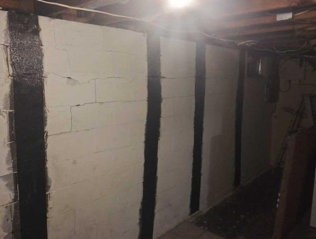 Bowed Wall Repair in Bridgeville, PA