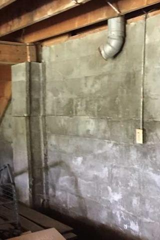Bowed Garage Walls Are Now a Stable Foundation in Rural Valley, PA