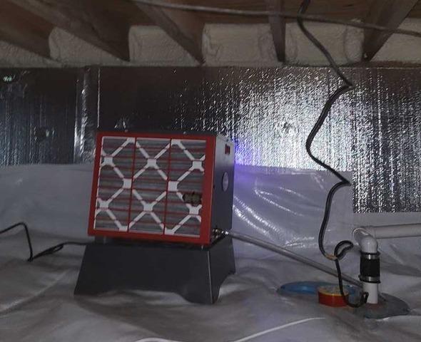 Crawlspace Waterproofing in Morgantown, WV