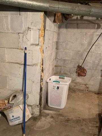 100 Year Old Basement Waterproofing in Meadowlands, PA