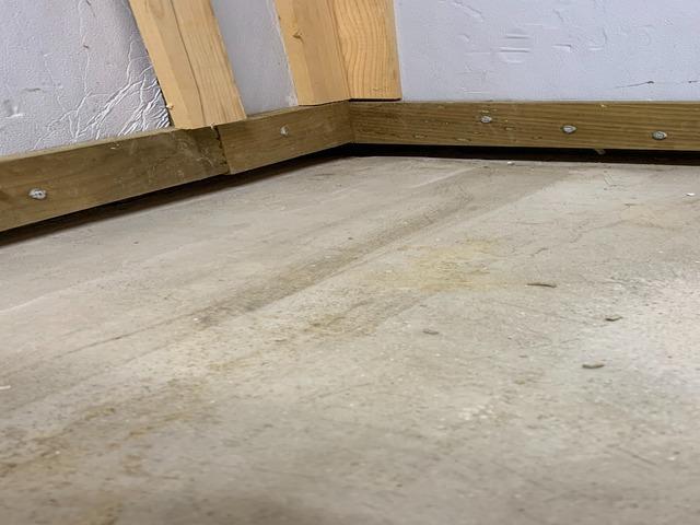 Concrete Basement Floor Stabilized in Smithton, PA