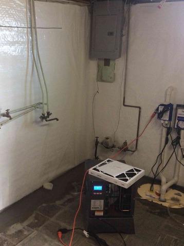 Basement Waterproofing in Republic, PA