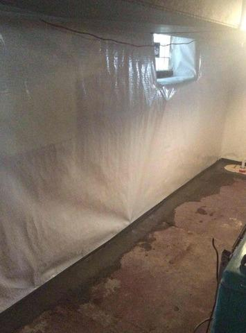 Full Perimeter Basement Waterproofing in New Brighton, PA