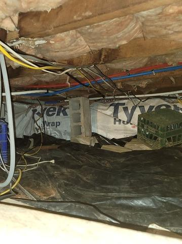 Crawlspace Encapsulated in Rogersville, PA