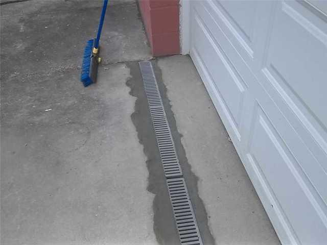 Drain in Front of Garage in Bethel Park, PA