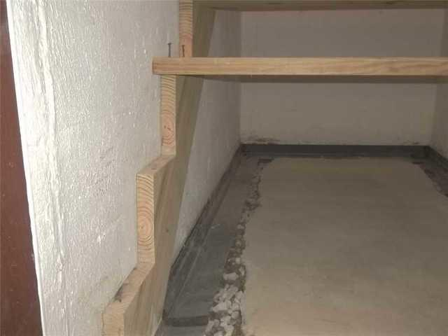 Basement French Drain Installation in Evans City, PA