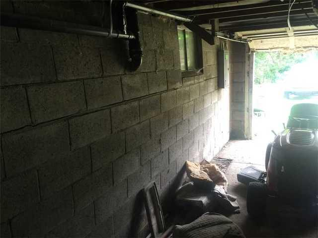 Bowing Garage Wall Repair in Gibsonia PA
