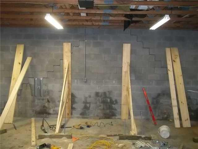 Extreme Bowing Wall Restored in Weirton, WV