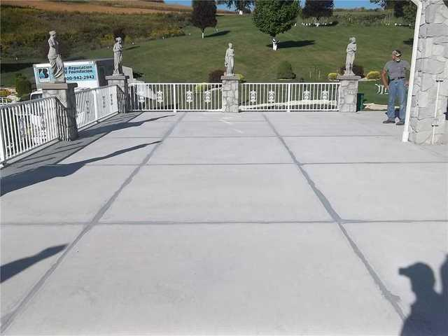 Concrete Patio Waterproofed in Mt. Pleassant, PA