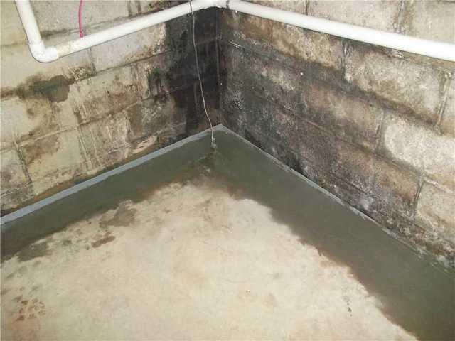 A Wet Basement in New Castle PA