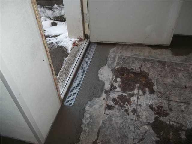 Water Through Basement Door in Belle Vernon, PA
