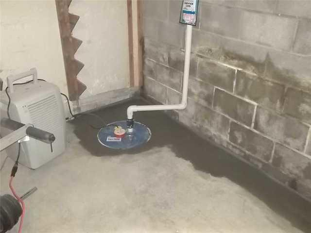 Basement Drain and Sump Pump in Champion, PA