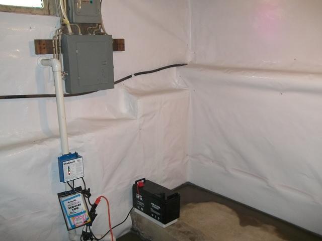 Fairmont, WV Basement Waterproofing Fix