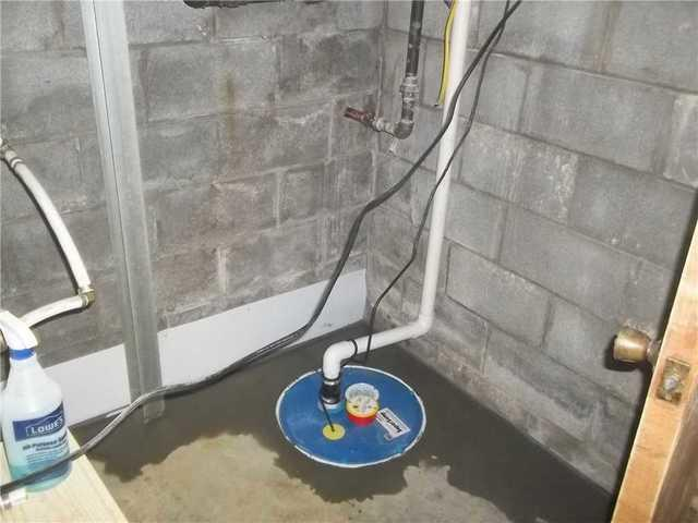 Basement Waterproofing System Installed in Fairmont WV