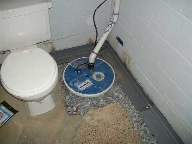 A Basement Wateproofing Solution in Monongahela, PA