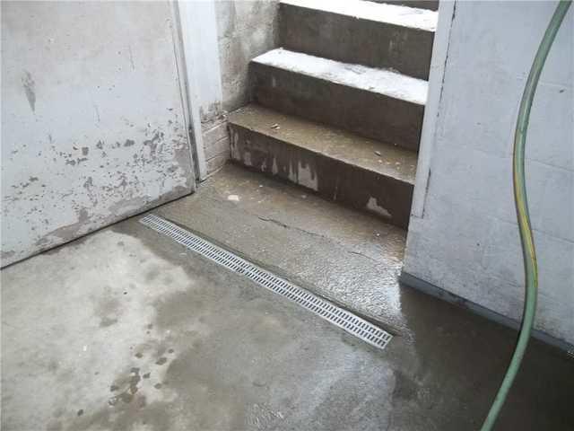 Water Coming Through Basement Door in Zelienople PA