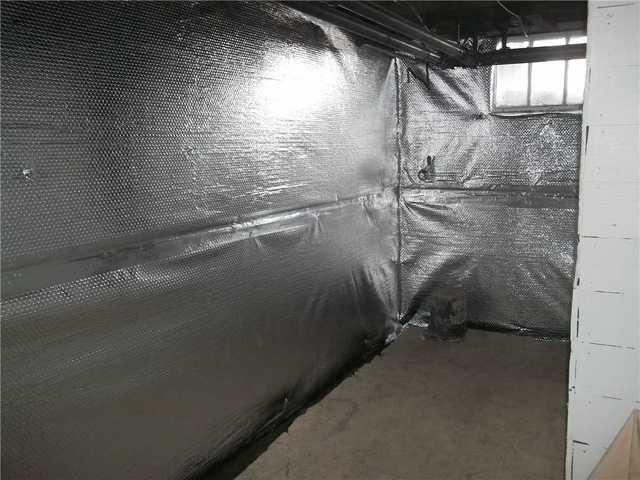Basement Wall Insulation in Uniontown PA