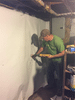 Basement Vapor Barrier Protection in Bethany WV