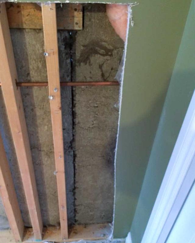Basement Crack Repair in Calgary, AB - Before Photo