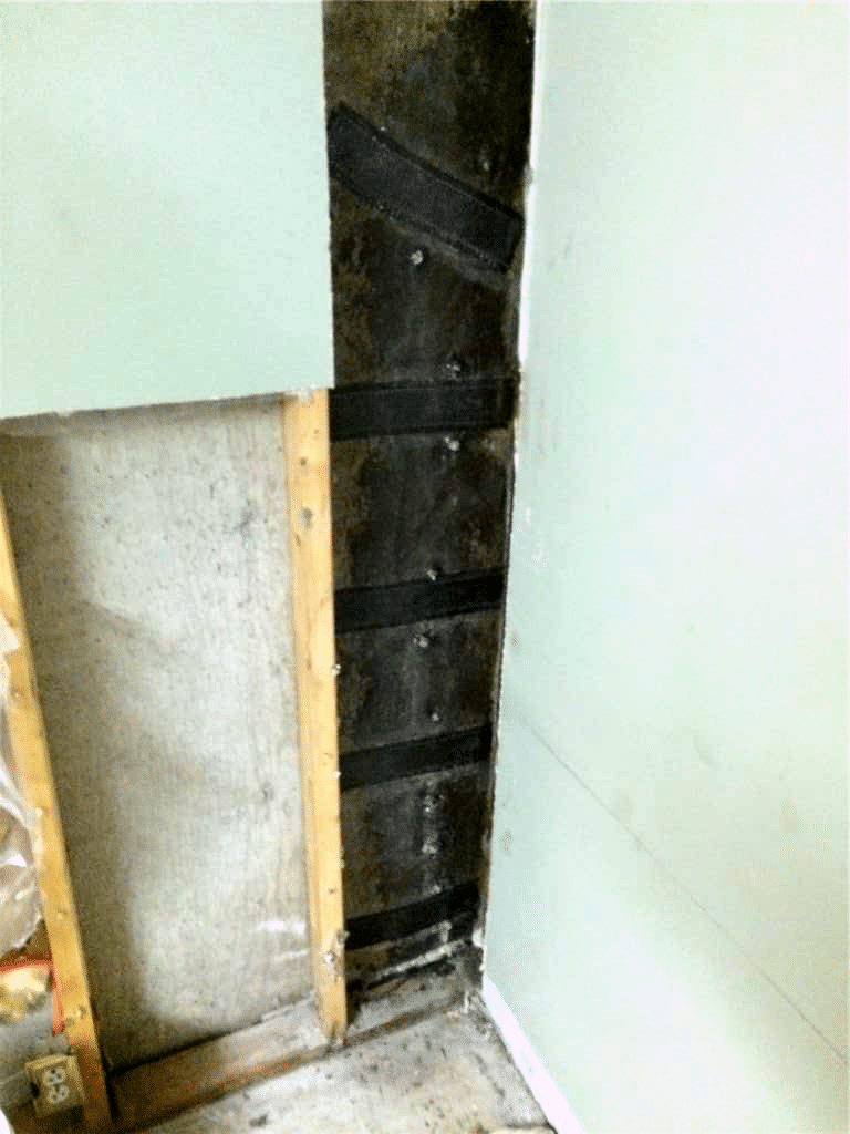 Crack Found in Foundation Wall that was Repaired in Southeast Calgary, AB - After Photo