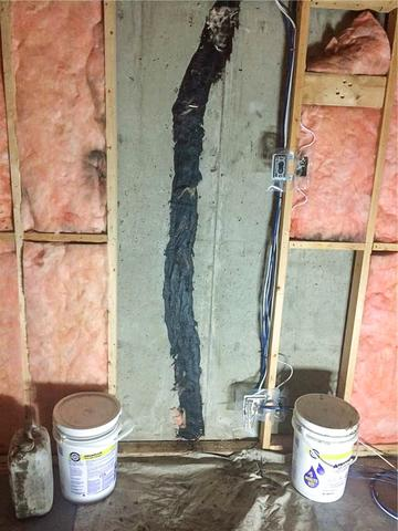 Fixing a Basement Wall Crack in Calgary, AB